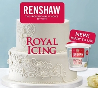 RENSHAW ROYAL ICING WHITE ( 4 X 400 Grm)