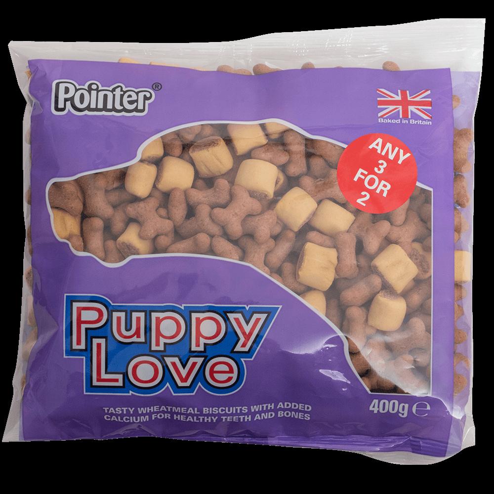 Pointer Puppy Love Puppy Treats 6 x 400g
