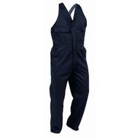 Turu Easy Action Elastic Shoulder Strap Cotton Domed Overall 270gsm