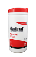 MEDIPAL ALCOHOL WIPE TUB
