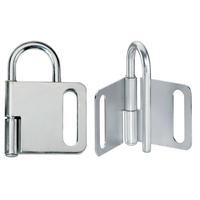 Master Lock Steel heavy duty lockout hasp, 25mm jaw clearance