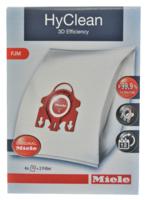 Miele FJM HyClean 3D Efficency Vacuum Bags 4 Pack & 2 Filters Genuine