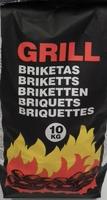 10 KG GRILL CHARCOAL BRIQUETTES