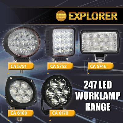 EXPLORER WORK LAMP RANGE