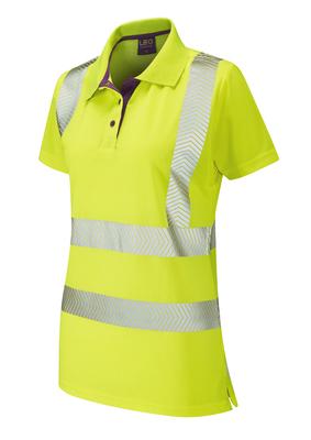 Pippacott Ladies Hi-Visibility Polo Shirt