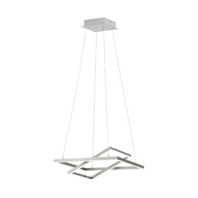 EGLO Tamasera Satin Nickel 14w LED Pendant | LV1902.0087