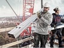 Men at work wearing High Quality Workwear