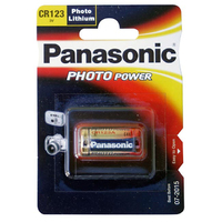 Panasonic Lithium Battery CR123
