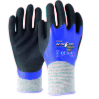 ActivGrip Omega Max Cut 5 Double Nitrile Full Dip Glove Pkt 12