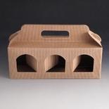 Jarbox 2. Box for 3 8oz Jars. (Pack of 10)