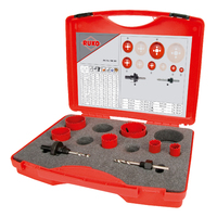 Ruko PK1 Plumbers Holesaw Set 8 Pieces