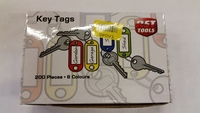 TA045 BOX X 200 ASSTD KEY TAGS