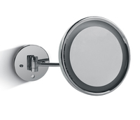ONE Light POLISHED CHROME 2W LED ILLUMINATED MIRROR & SWITCH  IP44