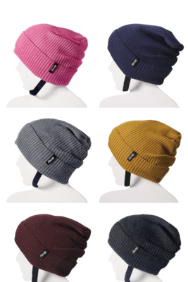 Curry Coloured Protective Beanie