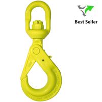 Gunnebo Swivel Safety Hook BKL w/ long trigger |  Grade 10