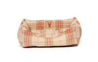 "Danish Design Newton Rectangular Snuggle Bed Green 18"" x 1"