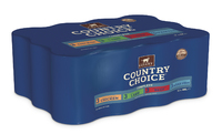 Gelert Country Choice Cat Cans Mixed 400g x 12