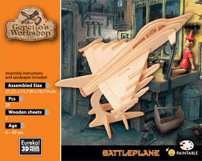 Gepetto's Battle Plane (2 sheets).