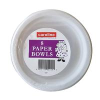 Caroline 8 Paper Bowls