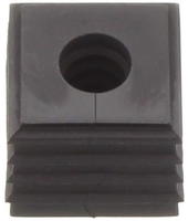 KDS-DE 8-9 BK - Seal, black small - 9mm Max Ø