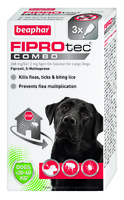 Beaphar FIPROtec COMBO Large Dog Spot On 3 Tube x 1