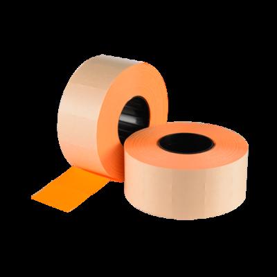 LYNX CT7 26x16mm Labels - Fluorescent Orange Removable (Box 30k)
