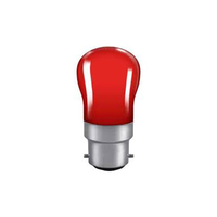15W BC Red Pygmy Lamp