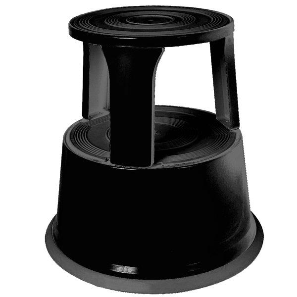SHOPWORX Metal Supa Step Stool - Black