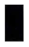 Triax Single Blank Inset(25x50)Black(304257)