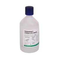 First Aid - Eye Wash Solution, Regular Bottle, 500ml