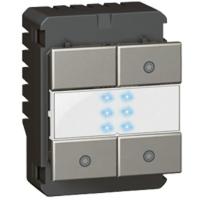 Arteor Switch (3x1000W) Square - White  | LV0501.2635