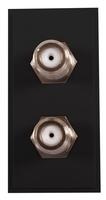 Triax Twin TV F (Barrell) Insert Black(304247