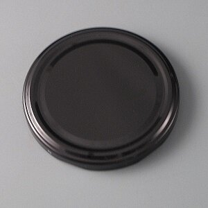 82mm Black Twist off Cap