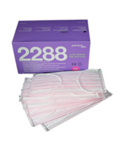 PREMIUM PLUS - PINK EAR LOOP FACE MASKS