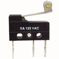 Switch   Micro Switch Mini with roller level 5A 125VAC