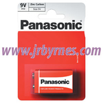 Panasonic 9v Batteries x12