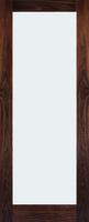 DEANTA NM6 CLEAR GLAZED WALNUT DOOR 1981MM X 660MM X 45MM