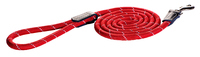 Rogz Rope Red Large Long Fixed Lead 1.8m x 1