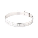 silver history of ireland kids bangle S5796 from Solvar