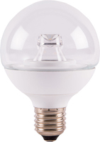 7W LED G80 CLEAR GLOBE WW E27   LV1603.0101
