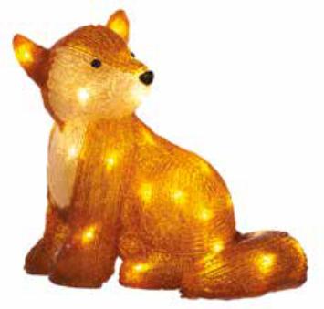 31cm LED Acrylic Fox