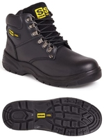 STERLING STEEL UNISEX 6 EYE HIKER BOOT
