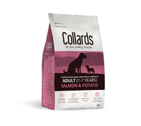 Collards Adult Dog - Salmon & Potato 2kg