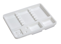 MONOTRAYS MINI WHITE x 50