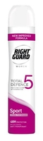 Right Guard Total Defence 5 Women Sport Aerosol 250ml