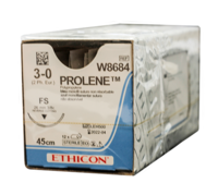 ETHICON - PROLENE 3/0 SUTURES  W8684