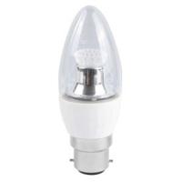 4W-(25W) BELL LED BC CL CANDLE DIM 2700K 250 LUMEM