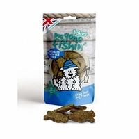 Dog Gone Fishin' Sea Bass with Wild Rice Bakes 75g x 6