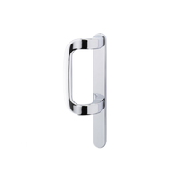 DUMMY PATIO HANDLE SATIN SILVER