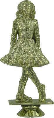 Irish Dancer 125mm Plastic Figure